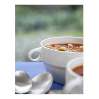 Rainy Day Soup Postcard