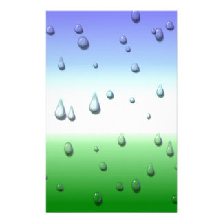 Rainy day stationery