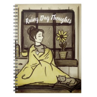 Rainy Day Thoughts Journal