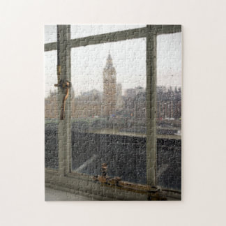 Rainy Day View on Big Ben - London Puzzle