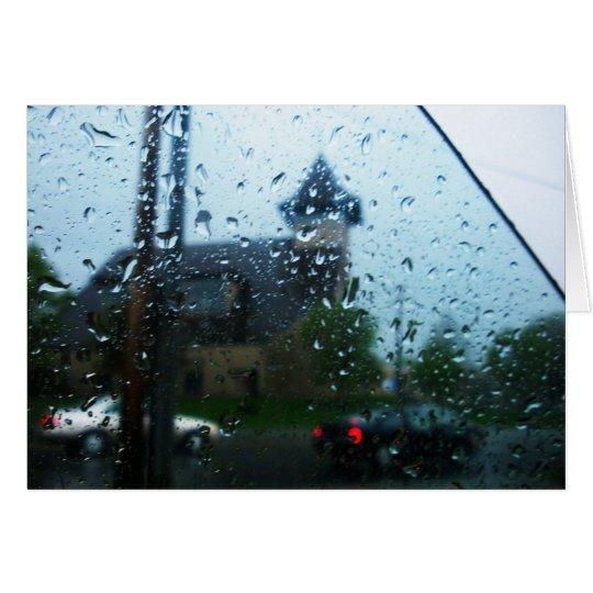 rainy days card