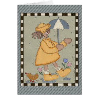 Rainy Days Greeting Card