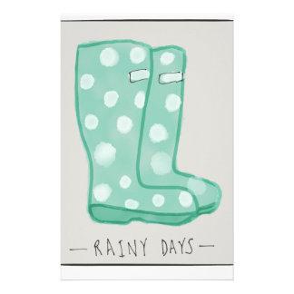 Rainy Days Stationery