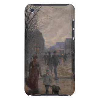 Rainy Evening on Hennepin Avenue, c.1902 Barely There iPod Case
