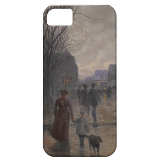 Rainy Evening on Hennepin Avenue, c.1902 iPhone 5 Cover