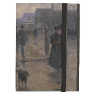 Rainy Evening on Hennepin Avenue, c.1902 iPad Air Cover