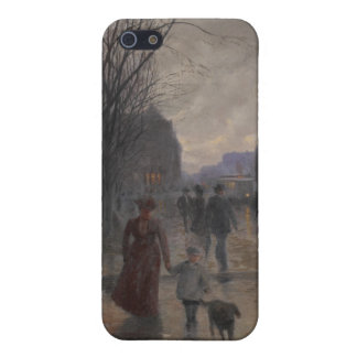 Rainy Evening on Hennepin Avenue, c.1902 Cases For iPhone 5