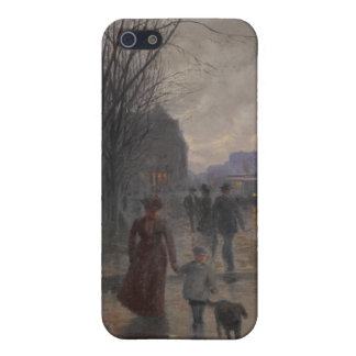 Rainy Evening on Hennepin Avenue, c.1902 Cover For iPhone 5