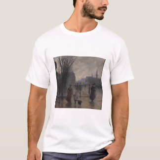 Rainy Evening on Hennepin Avenue, c.1902 T-Shirt