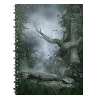 Rainy Forest Notebook