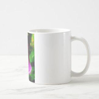 Rainy foxglove coffee mug