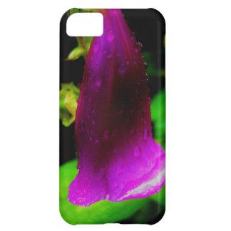 Rainy foxglove iPhone 5C cover