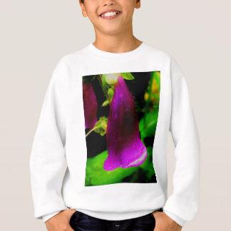 Rainy foxglove sweatshirt