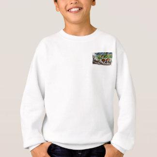 Rainy Garden Day Pocket Sweatshirt