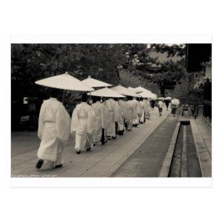 Rainy Morning at Kitano Tenman-gū Postcard