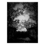 Rainy Nights Gothic Landscape Print