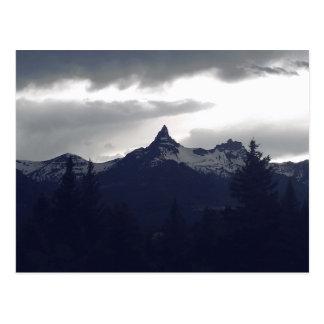 Rainy Peak Postcard