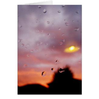 rainy reflections card