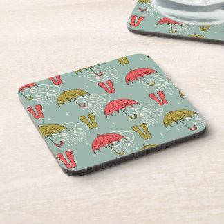 Rainy Season Umbrella Design Coaster