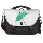 Rainy Umbrella Laptop Messenger Bag