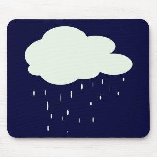 rainy weather mouse pad