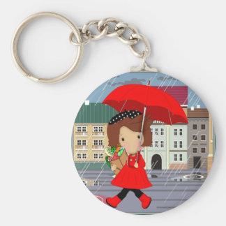 RainyDayGirl_kat Keychain