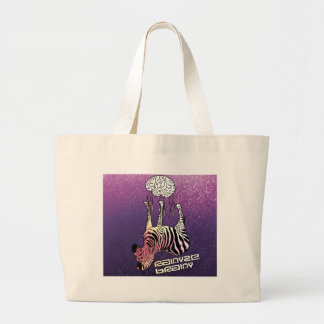 rainyzebra's Rainyze Brainy Large Tote Bag