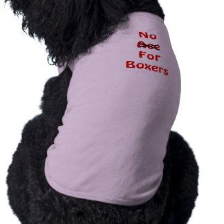 Raise awareness sedative No Ace For Boxers Dog Top