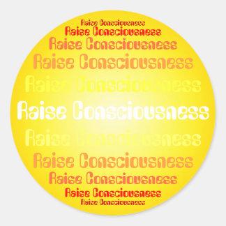 Raise Consciousness stickers