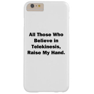 Raise My Hand Barely There iPhone 6 Plus Case