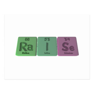 Raise-Ra-I-Se-Radium-Iodine-Selenium.png Postcard