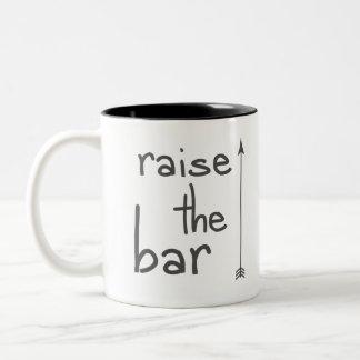 Raise the Bar Two-Tone Coffee Mug