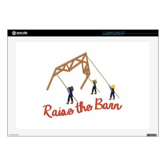 Raise the Barn Laptop Decals
