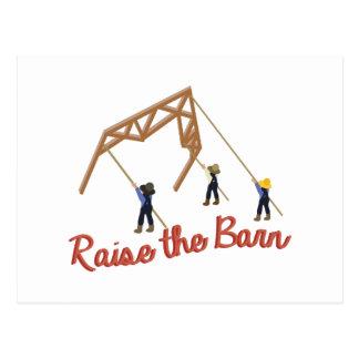 Raise the Barn Postcard