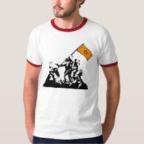 Raise the Cherokee Flag pop art tshirt