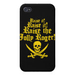 Raise The Jolly Roger iPhone 4 Covers