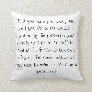 Raise the Smiles Pillow