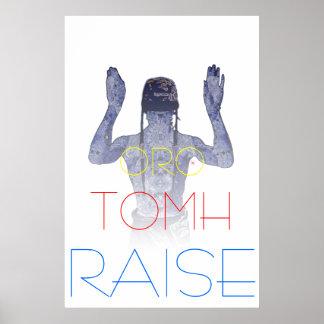 Raise Tomorrow Huemans by Karib Poster