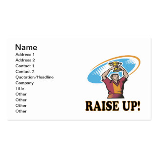 Raise Up Business Card