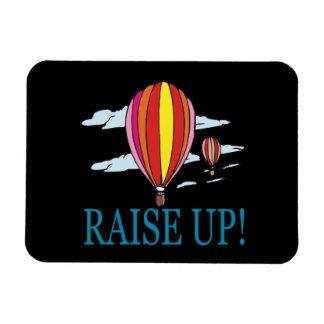 Raise Up Rectangular Photo Magnet