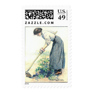 Raise What You Eat 1917 Postage