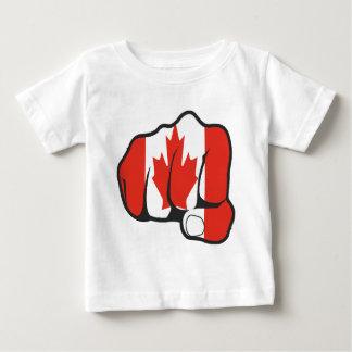 Raise Yer Fist CANADA Baby T-Shirt
