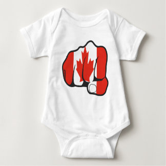 Raise Your Fist and Hell Baby Bodysuit