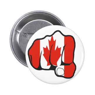 Raise Your Fist and Hell 2 Inch Round Button