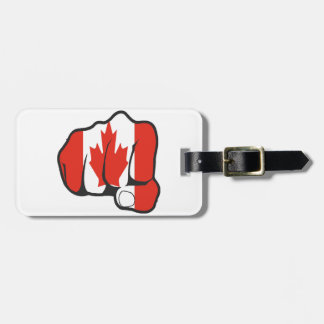 Raise Your Fist and Hell Luggage Tag