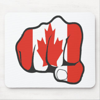 Raise Your Fist and Hell Mouse Pad