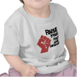 Raise your fist and resist t shirt