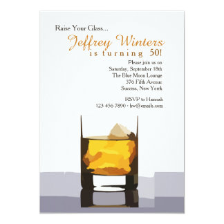 Raise Your Glass Invitation