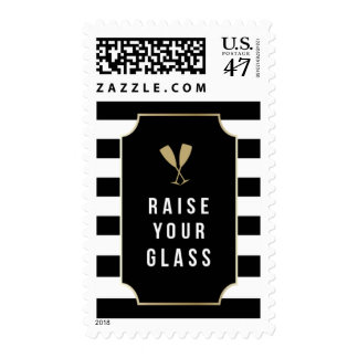 Raise Your Glass Postage
