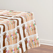 Raise Your Hands for Jesus Tablecloth